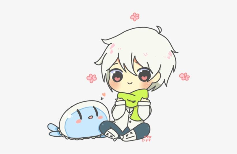 Chibi Cute Anime Boy Jellyfish Dmmd Dramatical Png Image