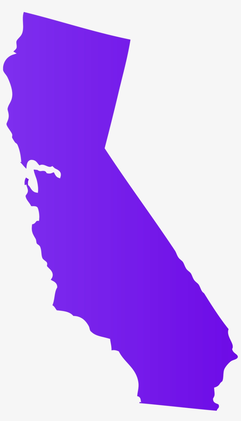 California transparent. Collection of clipart