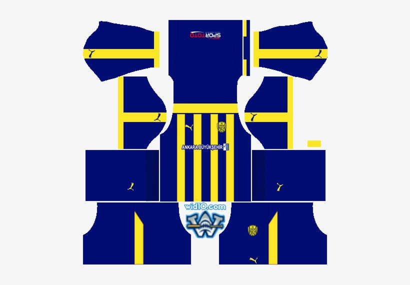 Ankaragücü 2018-2019 Dream League Soccer Dls/fts 18 - Kit