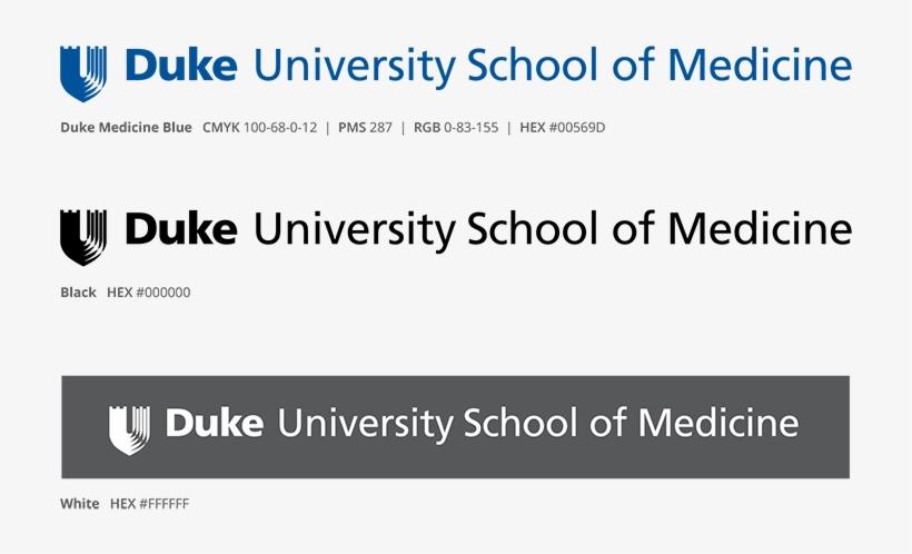 Logo Colors Duke School Of Medicine - Duke University Health System