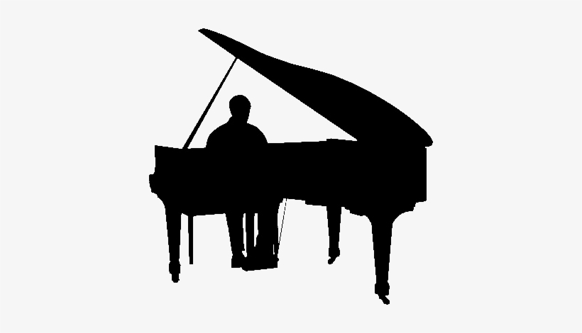 Piano Man Playing Piano Silhouette Png Image Transparent Png Free Download On Seekpng