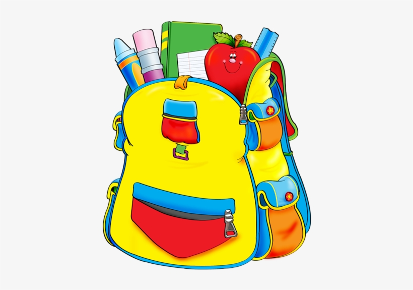 School Clipartschool Backpack With School Supplies Clipart Png Image Transparent Png Free Download On Seekpng