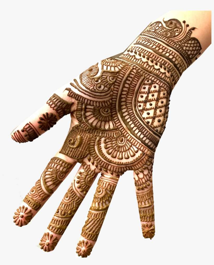 Easy Mehndi Designs For Karwa Chauth Png Image Transparent Png