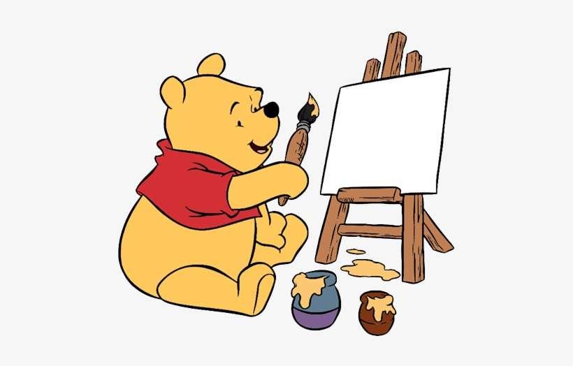 New Painting Ursinho Pooh Para Colorir Png Image Transparent