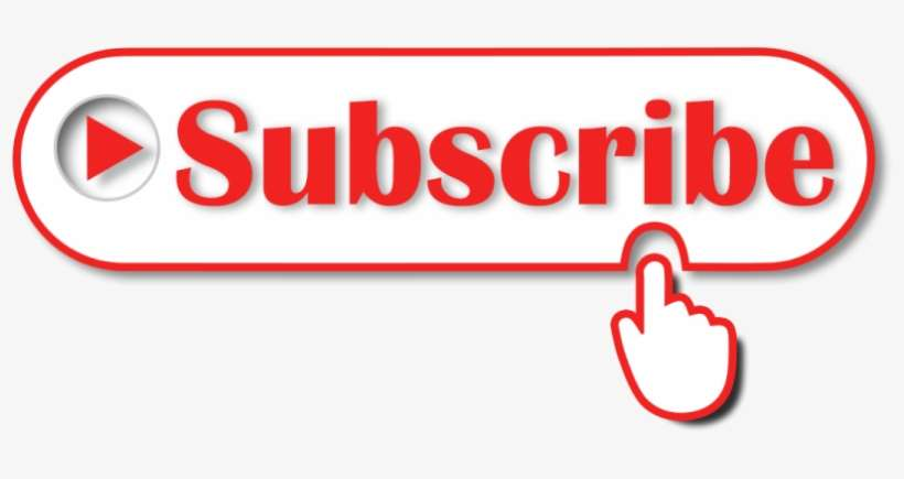 White Subscribe Button Png Subscribe Button Png Transparent
