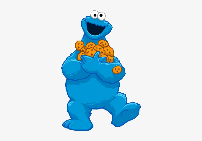 Sesame Street Cookie Monster Cartoon Png Image Transparent