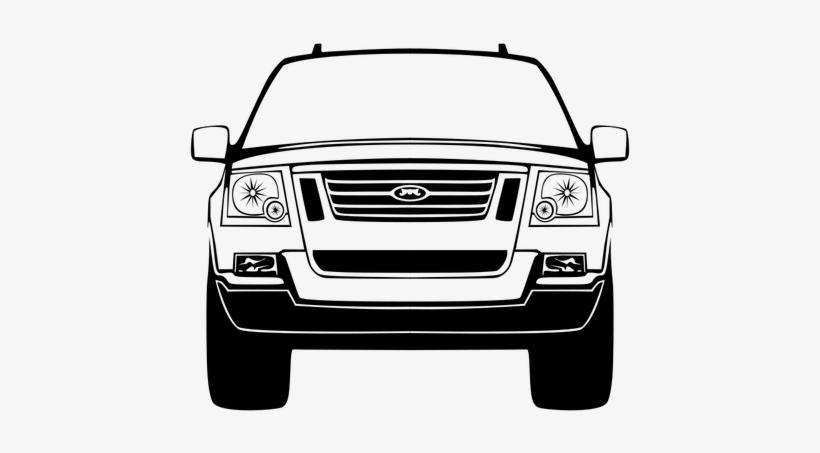 Car Front View Vector Graphics Public Domain Vectors Car Clip Art