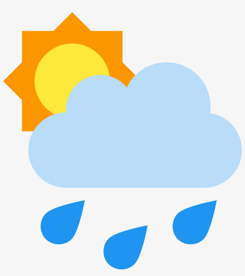 Rain Cloud Icon - Rain Icon PNG Image | Transparent PNG Free