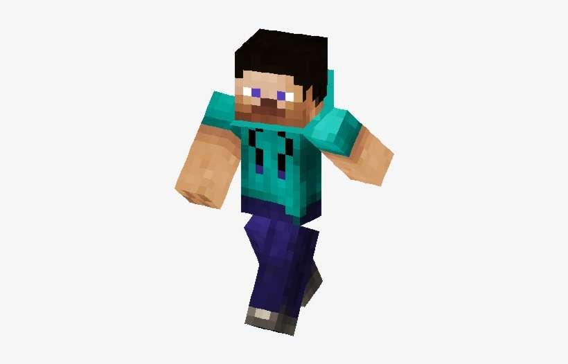 Steve Hoodie Skin Skins De Minecraft Anonymous Png Image Transparent Png Free Download On Seekpng