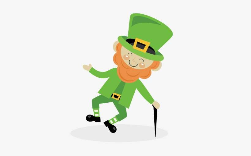 Leprechaun Svg Scrapbook Cut File Cute Clipart Files Happy Leprechaun Png Image Transparent Png Free Download On Seekpng