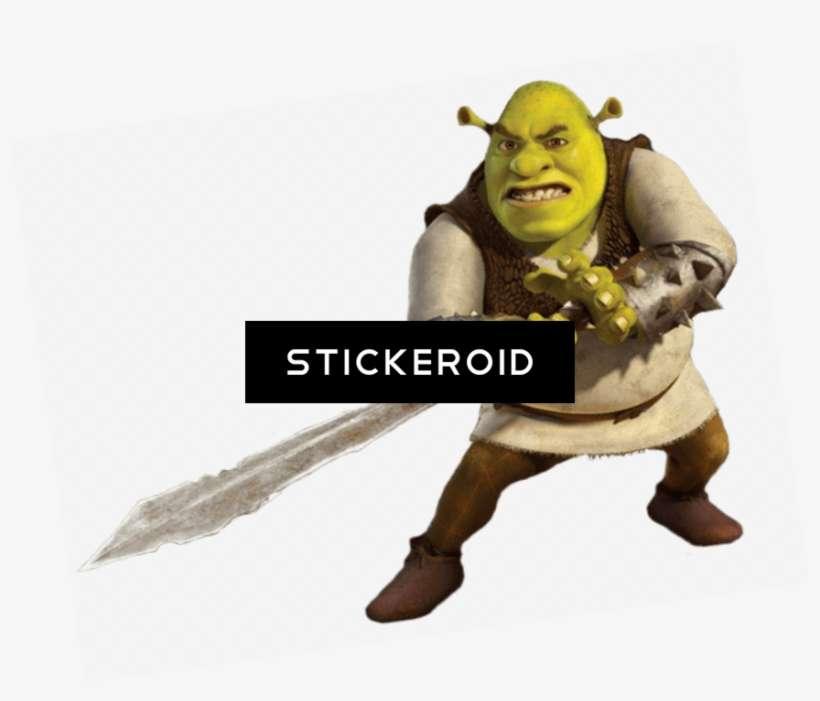 Shrek With Sword Shrek Forever After Png Image Transparent Png Free Download On Seekpng