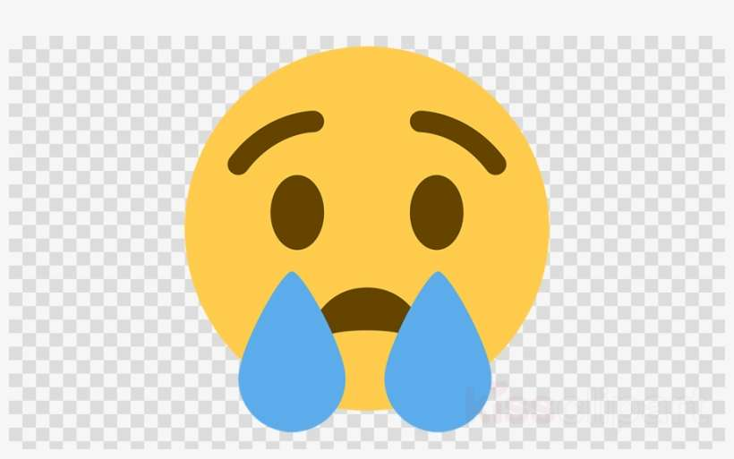 Download Facebook Cry Emoji Png Clipart Face With Tears - Smiley In