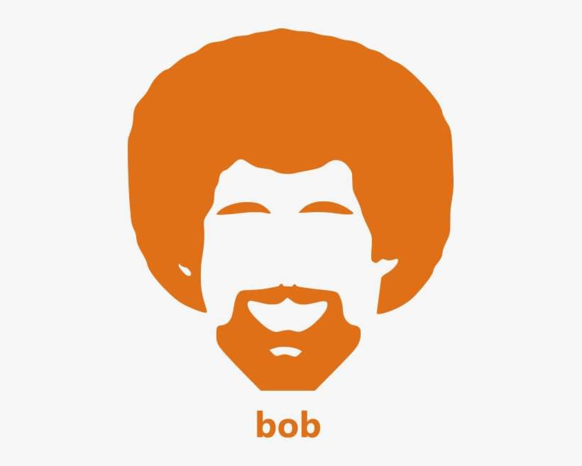 bob ross pumpkin template  Bob Ross Pumpkin Carving PNG Image | Transparent PNG Free ...