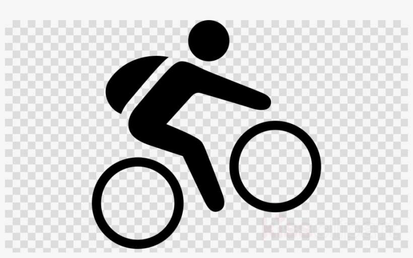 Cycling Mountain Biking Pictogram Svg Clipart Bicycle - Logo Xbox One Png, transparent png download