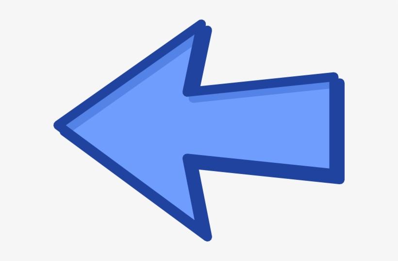 Arrow Clipart Blue Arrow - Left Arrow Clipart PNG Image ...