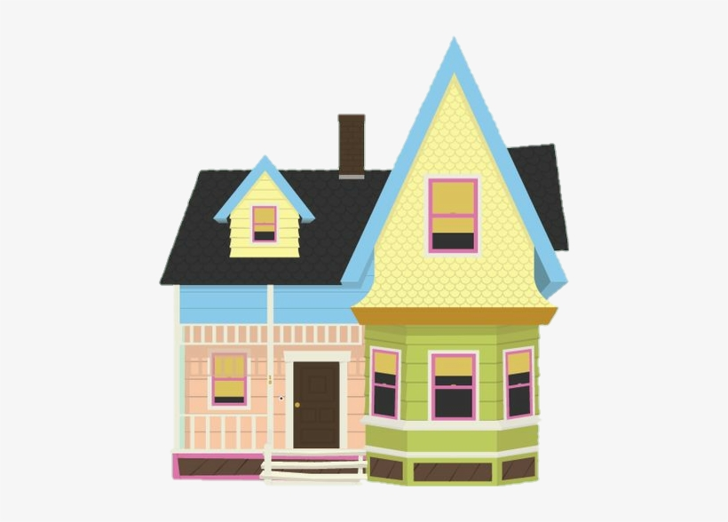 Up House Clipart - Up Movie House Drawing@seekpng.com