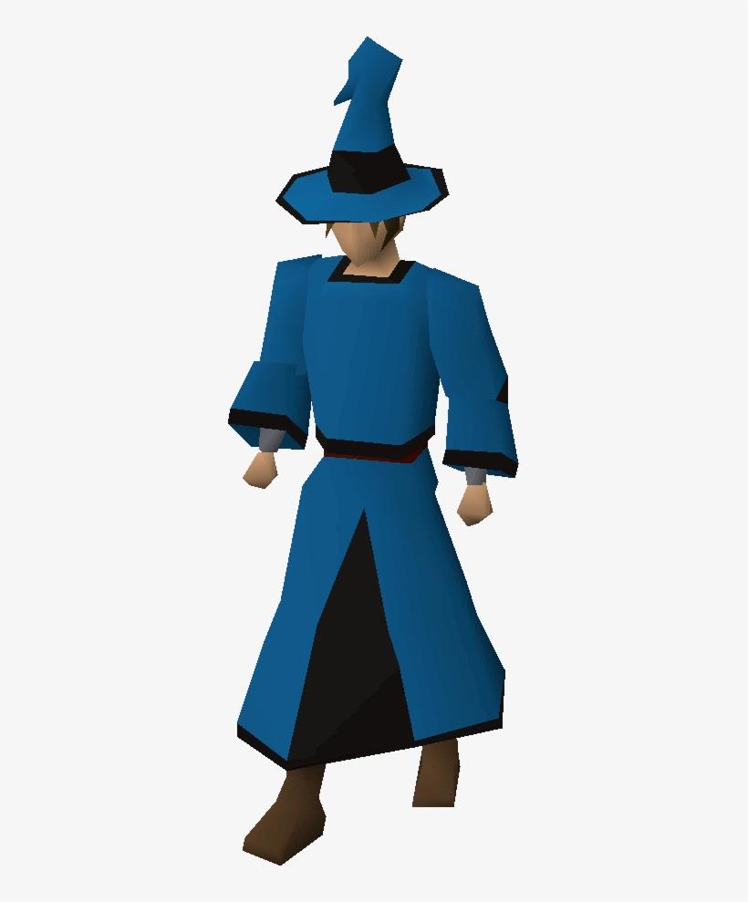 6713ba4887e Blue Wizard Hat T Old School Runescape Wiki Fandom - Osrs Black Wizard G
