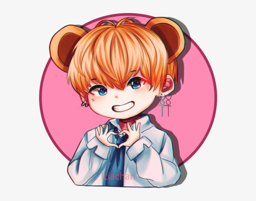 Stickers Taehyung V By Bts Kim Taehyung Anime Png Image