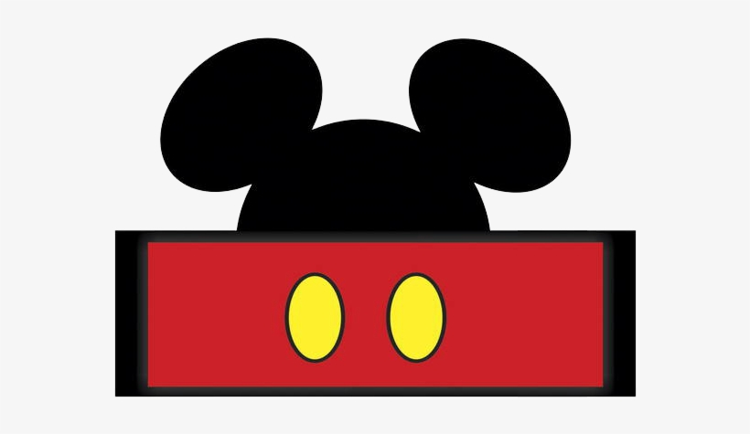 Mickey Mouse Em Png Molde Para Festa Mickey Png Image