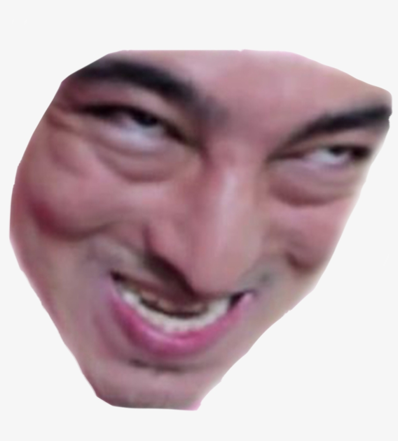 Dank Meme Face Png - Pink Guy Retard Face PNG Image