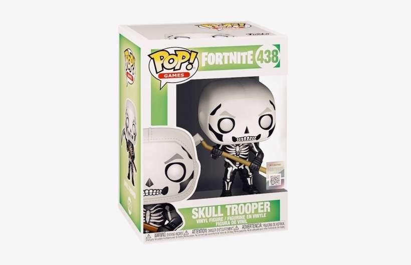 Funko Fortnite Skull Trooper - Skull Trooper Funko Pop PNG