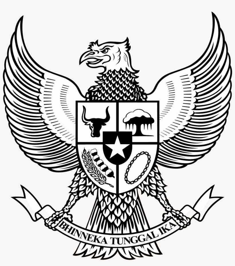 Garuda Vector Png - National Emblem Of Indonesia PNG Image