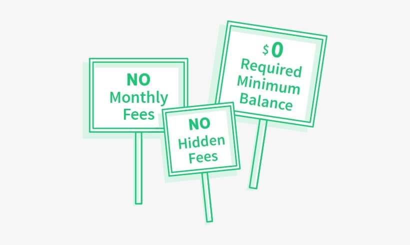 No Fee Banking Bank Fees Transpa Png