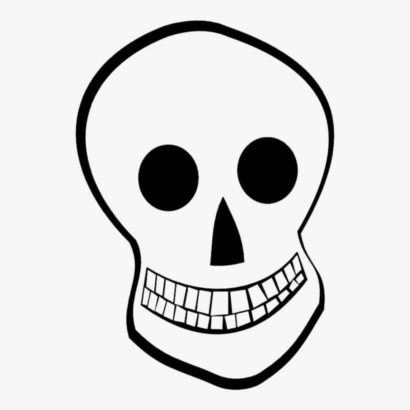 Skull Skeleton Clipart, Explore Pictures - Cartoon Cute Skeleton Head@seekpng.com