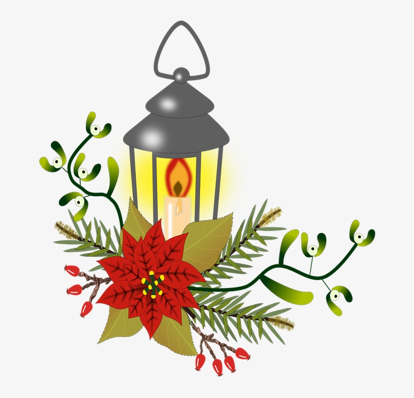 Christmas Flowers Clipart 11 Buy Clip Art Red Poinsettia And Lantern Oval Ornament Png Image Transparent Png Free Download On Seekpng