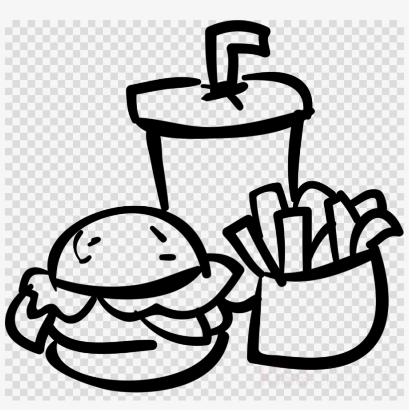 Food And Drink Icon Png Clipart French Fries Hamburger