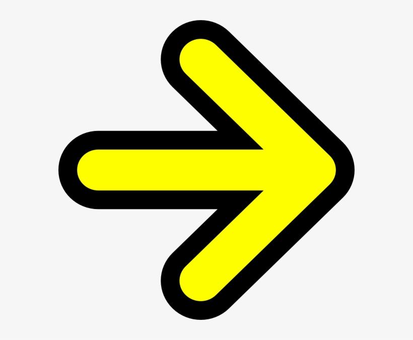 Arrow yellow. Clip art free clipart