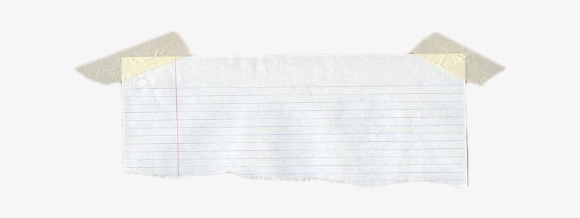 Notebook Paper Transparent@seekpng.com