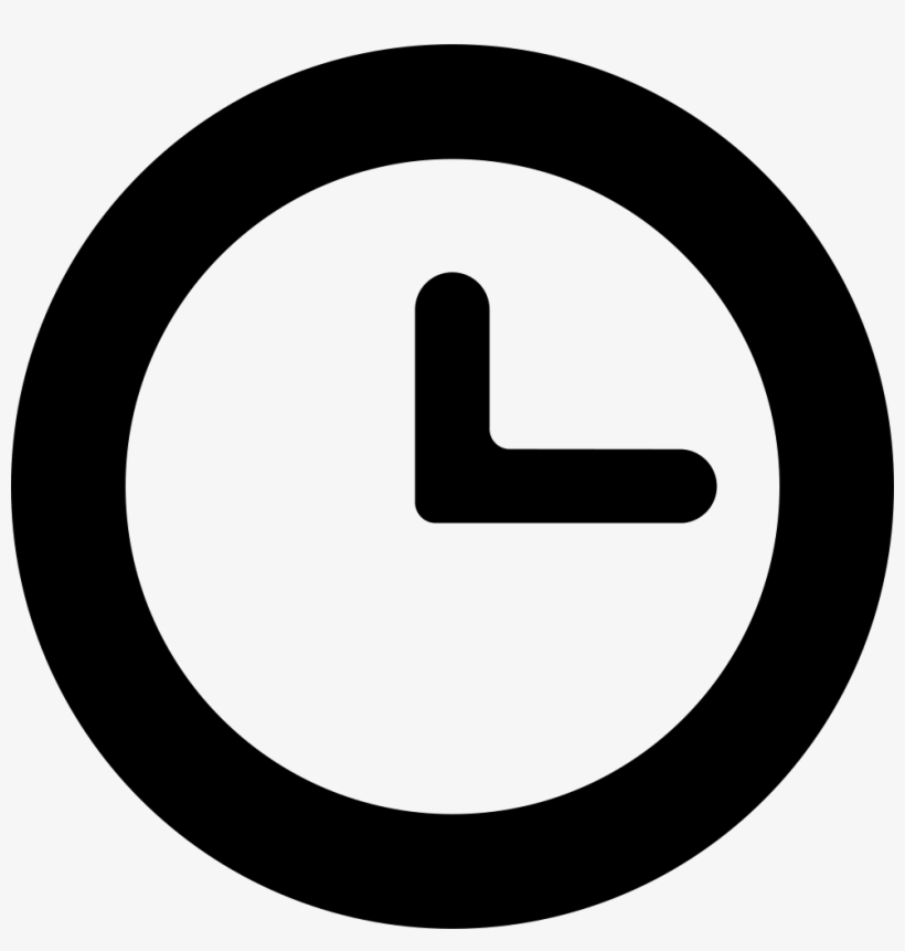 Svg Free Download Onlinewebfonts - Clock Svg Icon PNG Image