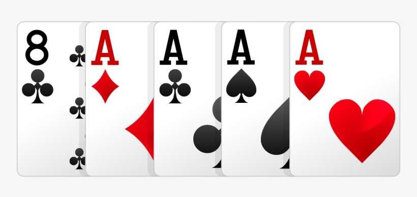 Four Of A Kind Poker Kartu Four Of Kind Png Image Transparent Png Free Download On Seekpng