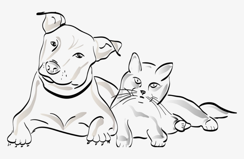 Dogs Vector Minimalist Clipart Stock Png Desenho De Cachorro E