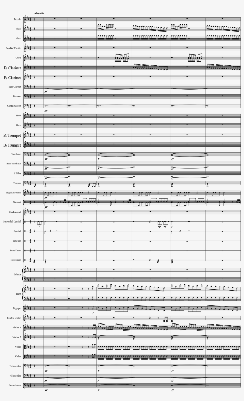 Reach Overture Sheet Music Composed By Martin O'donnell - Comet Observatory Sheet Music Saxophone@seekpng.com