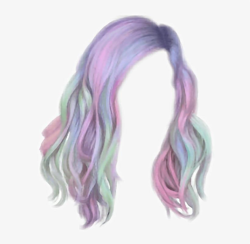 Hair Hairstyle Unicorn Unicornhair Unicorn Hair Png Png Image