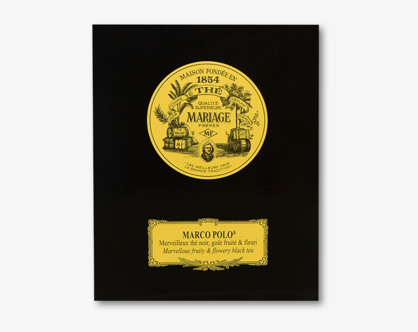 Mariage Freres Marco Polo Black Tea Leaves - Mariage Freres Loose Leaf Marco Polo Tea Canister@seekpng.com