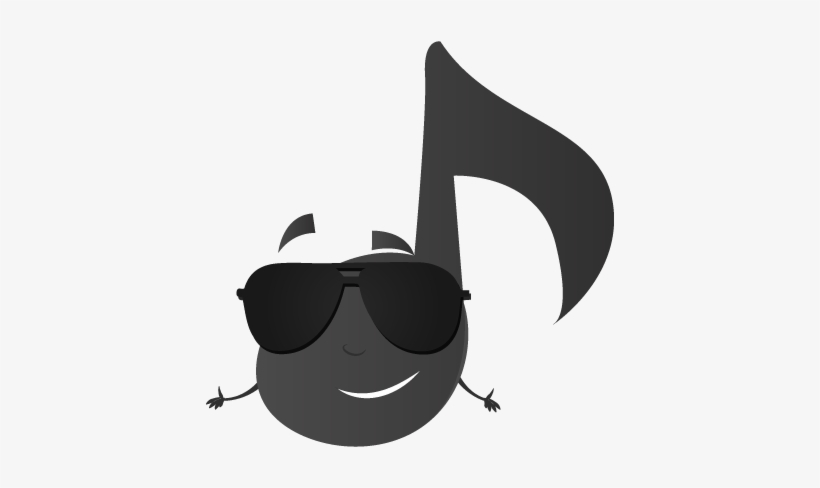 Cool Music Stickers Messages Sticker-2 - Jazz Emoji PNG Image