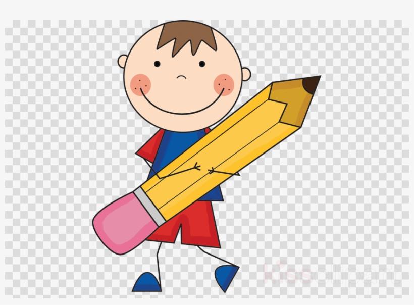 Boy With Pencil Clipart Pencil Paper Clip Art Informative