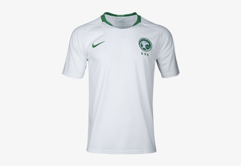 watch a7c09 a2192 Nike 2018 World Cup Saudi Arabia Home Soccer Jersey PNG ...
