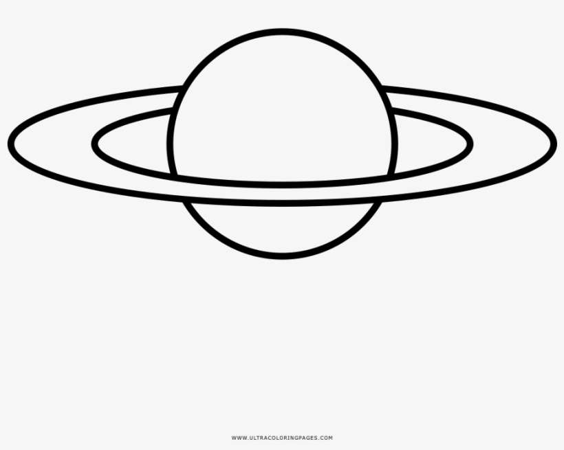 Saturn Coloring Page сатурн раскраска Png Image