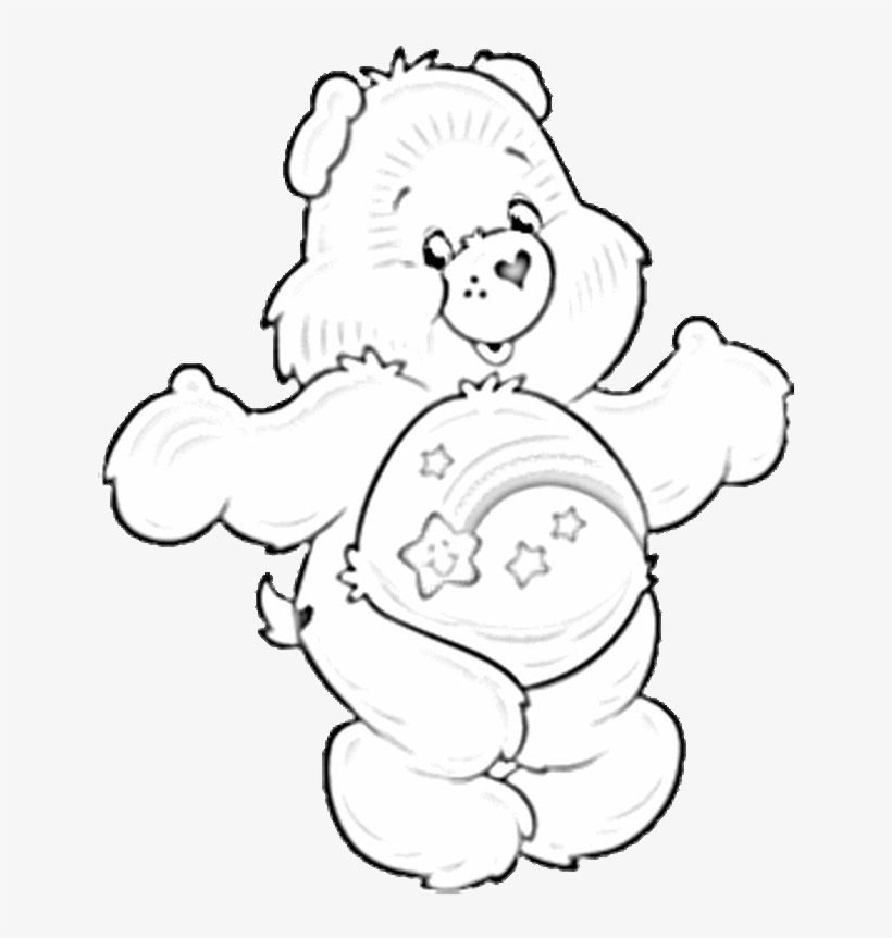 Care Bears Printable Coloring Pages - Coloring Home | 862x820