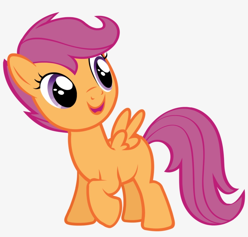 Castlecreator Scootaloo3 My Little Pony Scootaloo Happy Png Image Transparent Png Free Download On Seekpng Scootaloo wild rainbow style : my little pony scootaloo happy