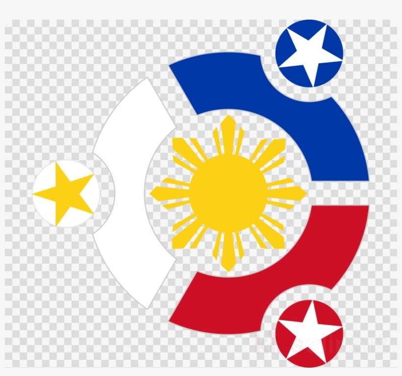 68b15745446de Download Three Stars And A Sun Tattoo Designs Clipart - Philippine Flag Logo