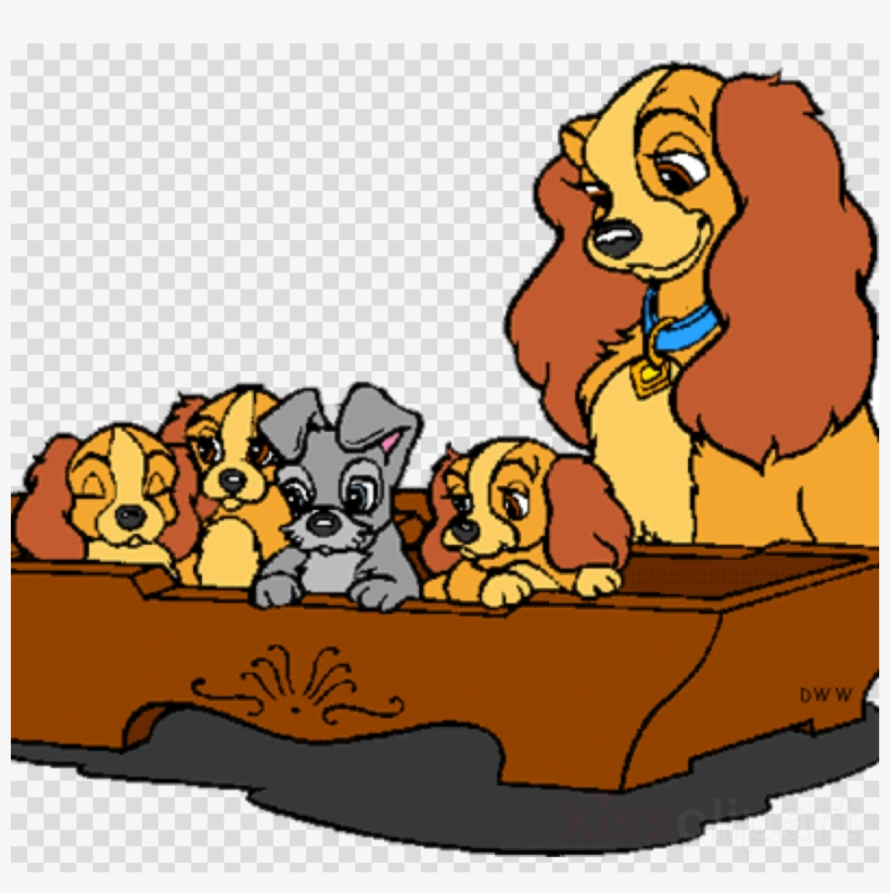 Download Lady And The Tramp Coloring Clipart Puppy Lady And The Tramp Coloring Png Image Transparent Png Free Download On Seekpng