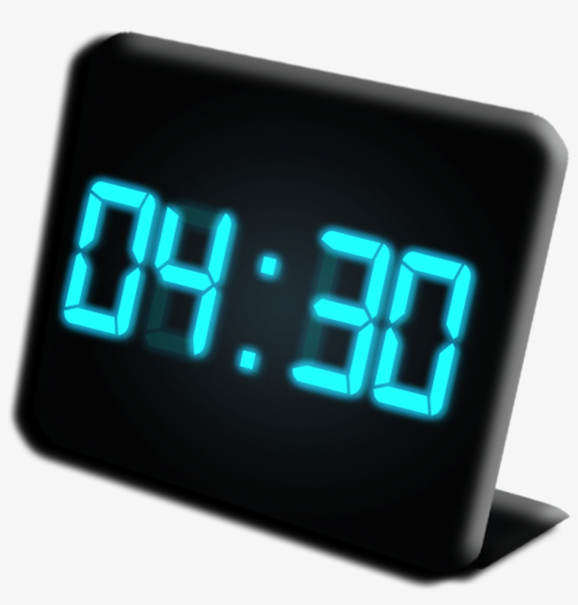 Digital Clock Png - Digital Clock 4 30 PNG Image