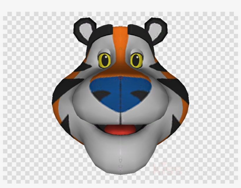 Download Tony The Tiger Face Png Clipart Frosted Flakes Tony The