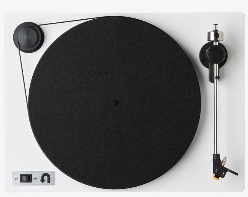 Orbit Custom Top View - U-turn Audio Orbit Plus Turntable