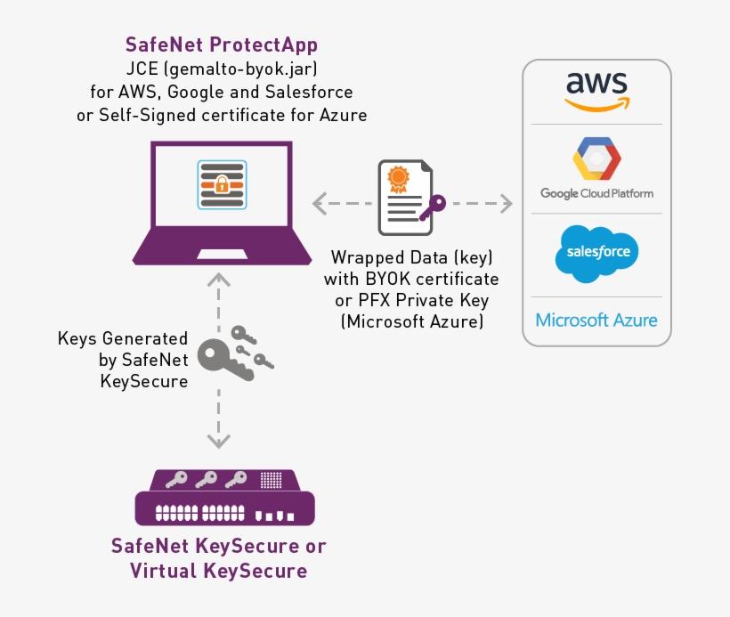 Keysecure Protectapp Byok - Gemalto Kms PNG Image   Transparent PNG
